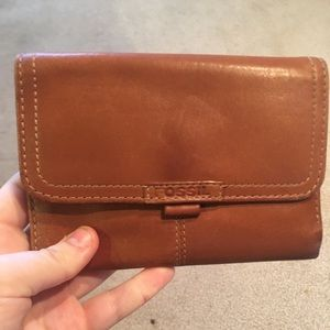 Fossil 1954 Genuine Leather Trifold Wallet